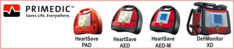 primedic defibrylatory AED PAD XD